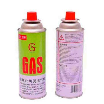 400ml 227g portable camping Diam 65*158 straight wall empty spray can for butane for 250gm