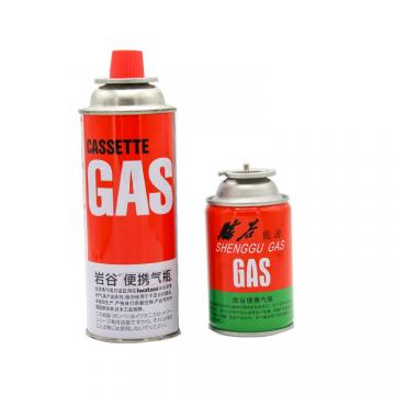 Explosion Proof Portable gas bottle/butane gas/gas stove can 220g 250g