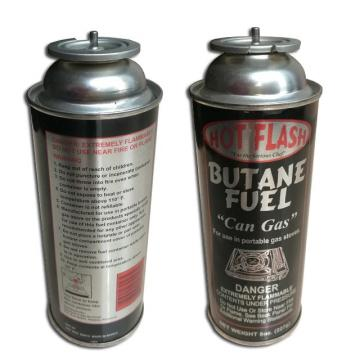 NOZZLE VALVE TYPE Butane gas canister in gas cylinder