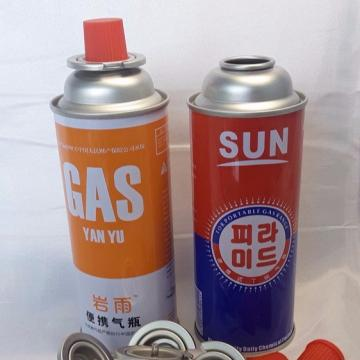 Butane Gas Cylinders for portable camping stoves