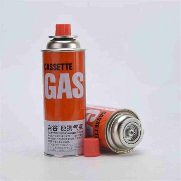 220G nozzle type 227g Portable butane gas cartridge and butane gas canister