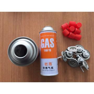 Automatic Butane Gas Cartridge Refilling Machine with Valve and Cap