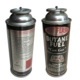 Accessories Hiking Equipment The empty mint tin butane gas canister and mini aerosol butane gas can